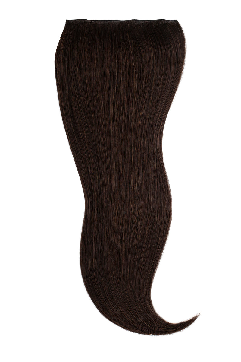 Natural Black (1B) Naturally Glam Lace Clip Ins