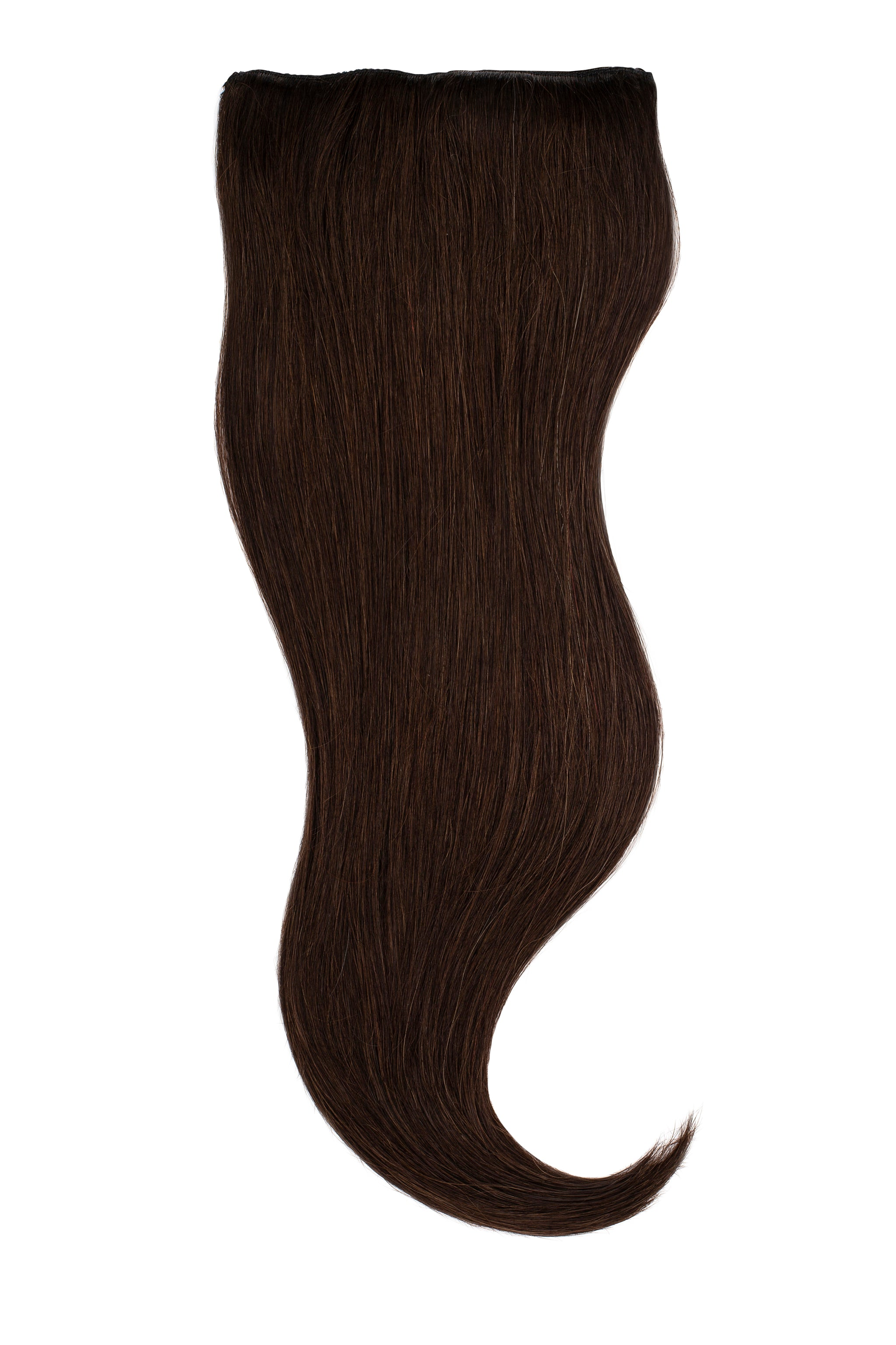 Espresso Brown Clip In Hair Extension