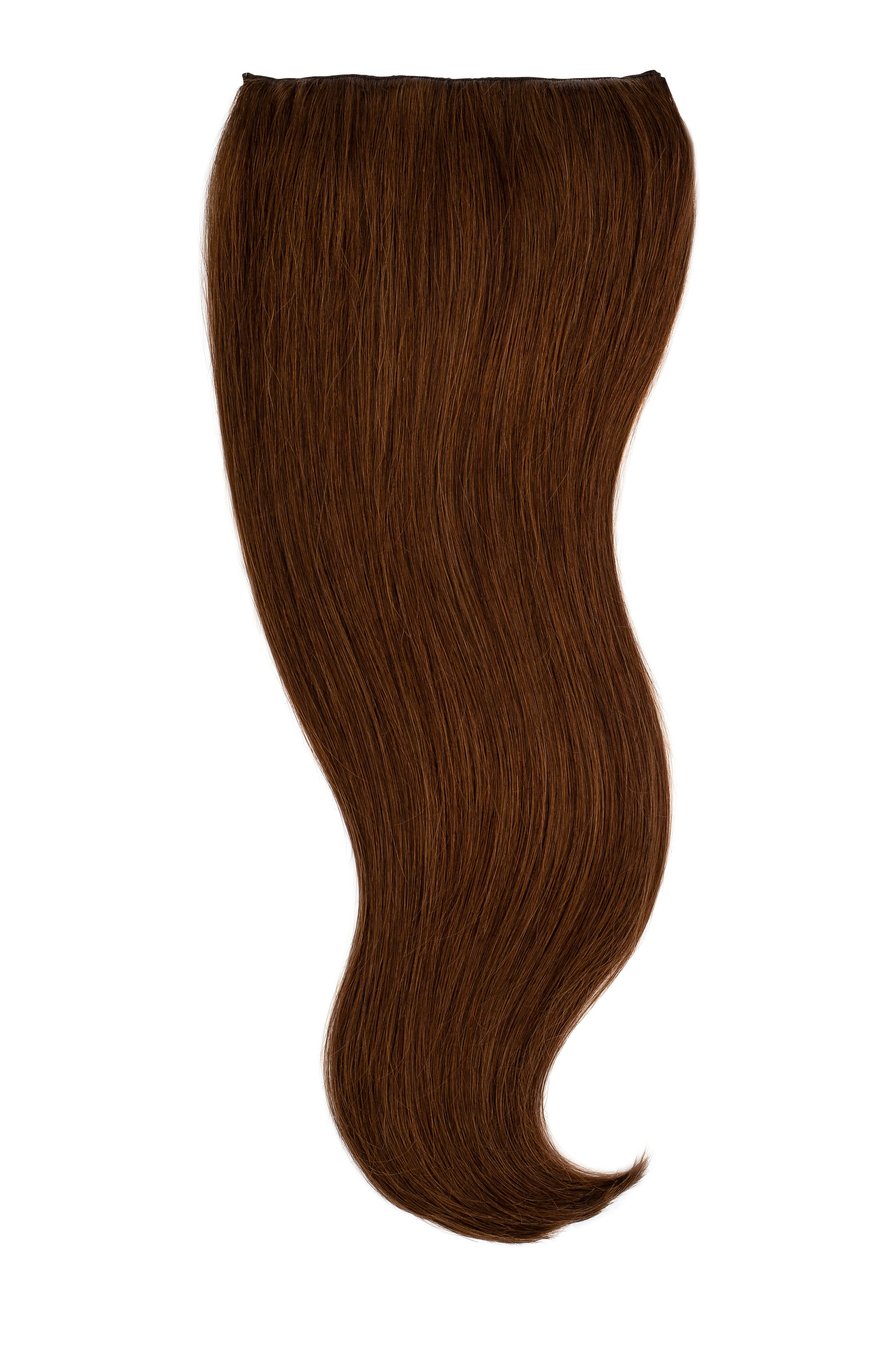 Chocolate Brown Clip In Hair Extensions