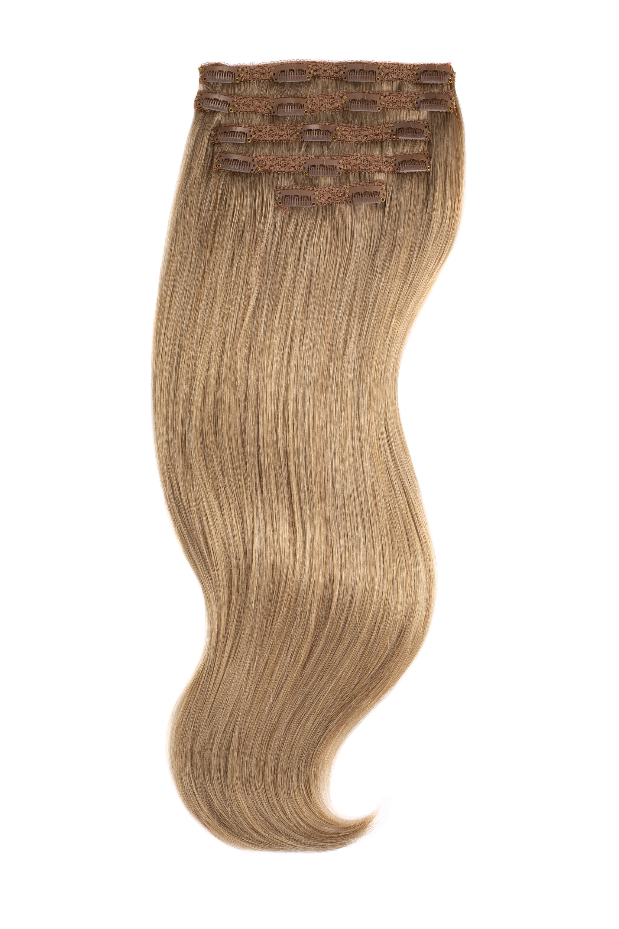 Dirty Blonde Silk Lace Clip Ins