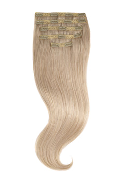 Platinum Ash Blonde (60) Silk Lace Clip-Ins