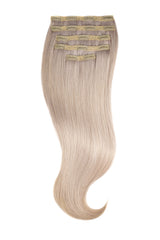Iced Blonde Silk Lace Clip Ins