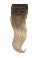 Cream Beige Balayage Naturally Glam Lace Clip Ins
