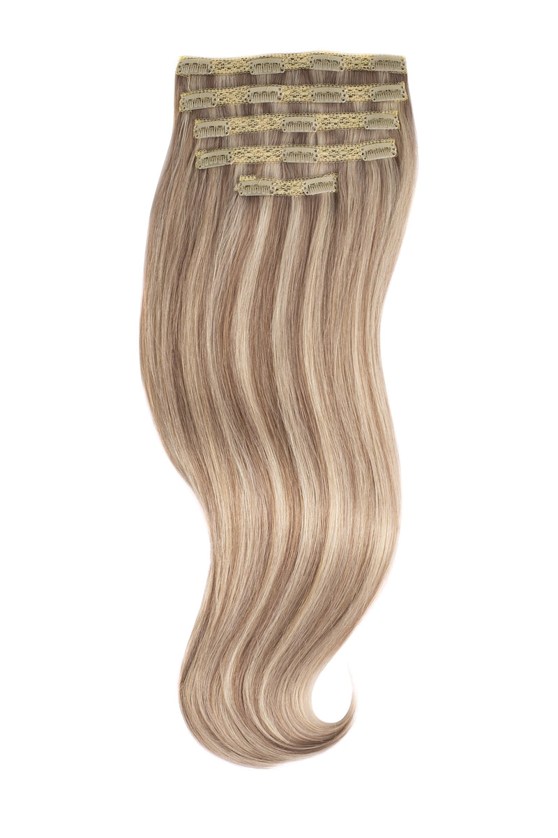 Champagne Highlights (18A/60) Naturally Glam Lace Clip Ins