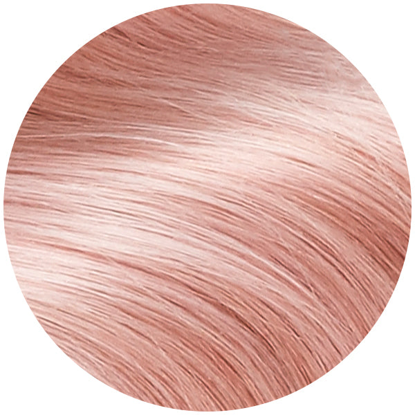 Light Pink Ultra Seamless Tape In Hair Extensions