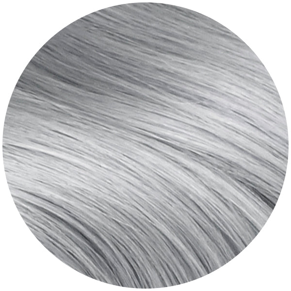 Ultra Seamless Tape In Hair Extensions Light Silver