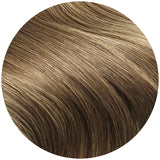 Seamless Clip In hair Extensions in Medium Ash Brown