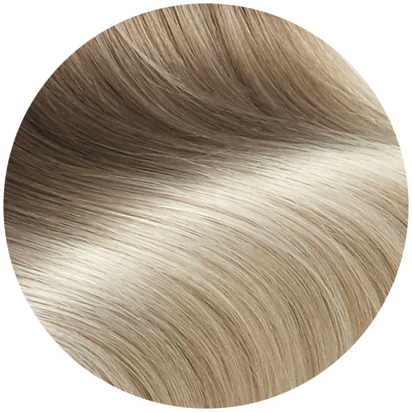 Seamless Clip In Hair Extensions Melted Ice Ombre