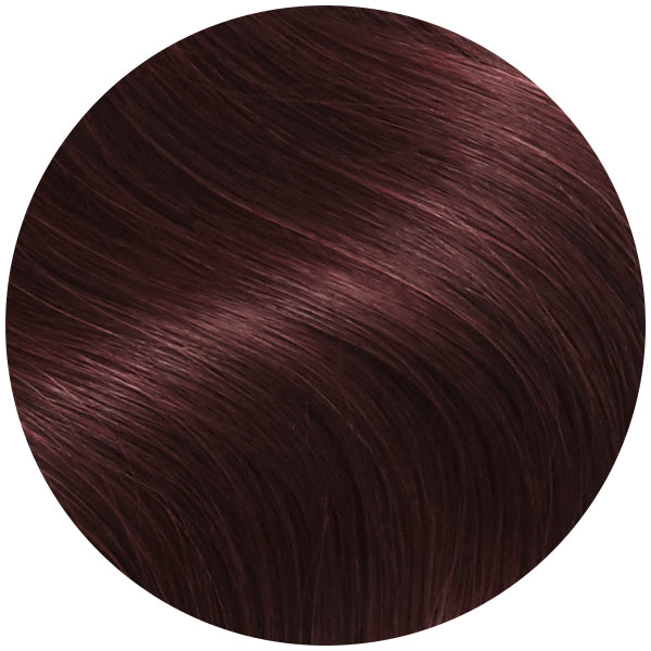 Red Merlot Clip In Hair Extensions
