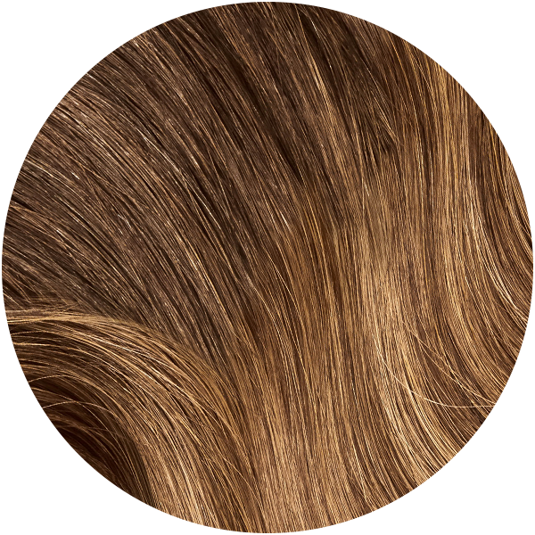 Mocha Bronde Balayage Ultra Seamless Tape In Hair Extensions