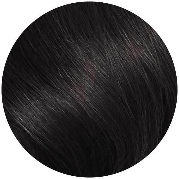 Natural Black Seamless Clip In Hair Extensions