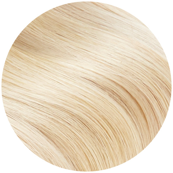 Platinum Blonde Skin Weft Hair Extensions