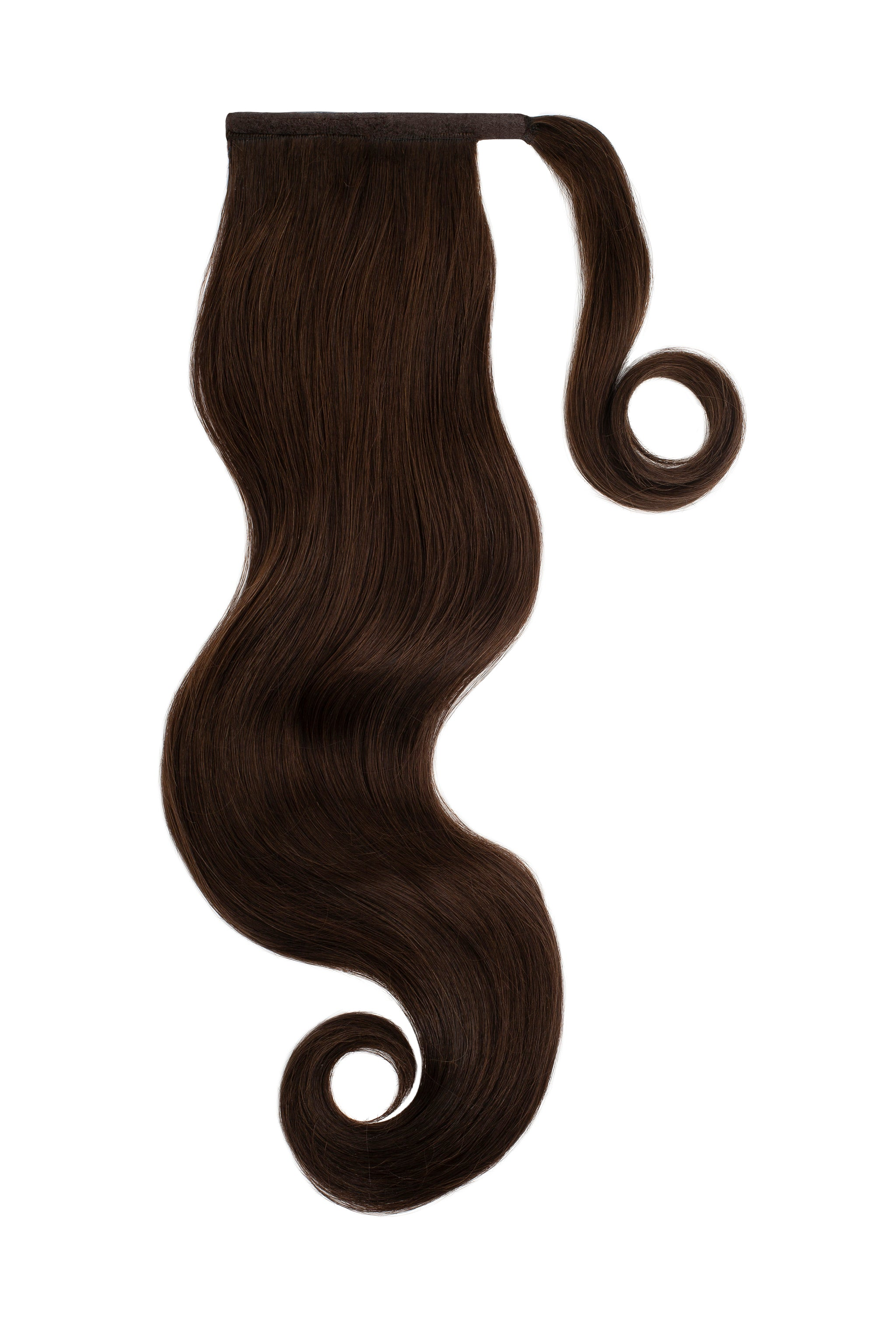 Dark Brown Clip In Ponytail Hair Extensions