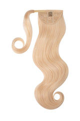 Platinum Blonde Clip In Ponytail Hair Extension