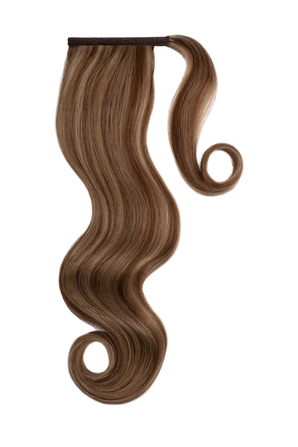 Caramelt Highlights Clip In Ponytail Hair Extensions