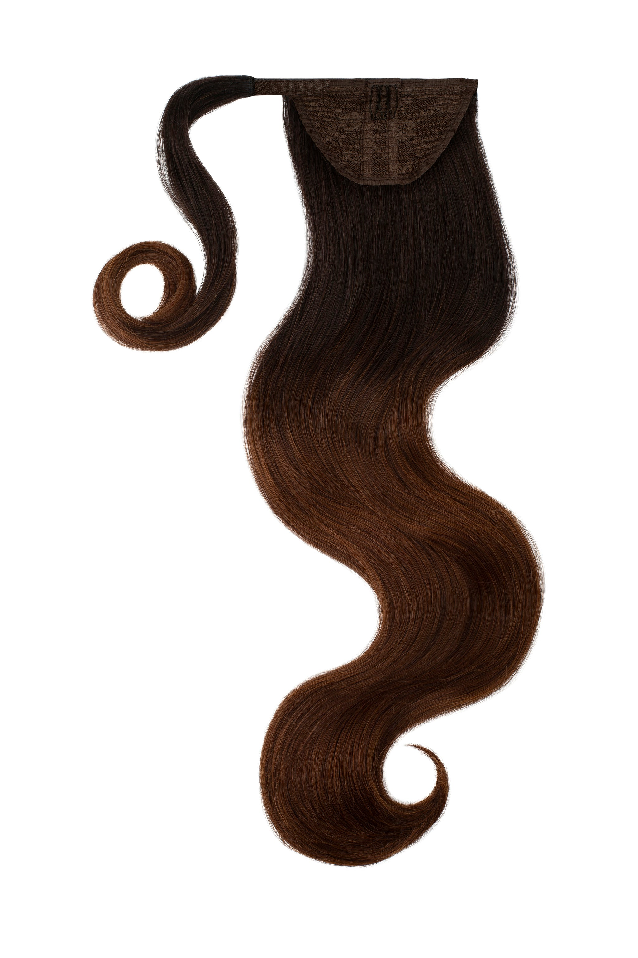 Hawaii Balayage Clip In Ponytail Hair Extensions