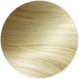Rooted Light Brown to Beach Blonde Traditional Hair Weft Bundle
