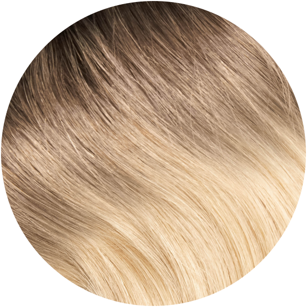 Remy Tape In Hair Extensions Santa Monica Ombre Blonde