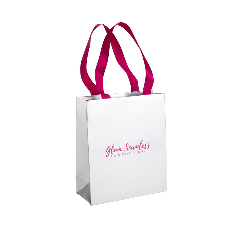 hair extension shopping bag