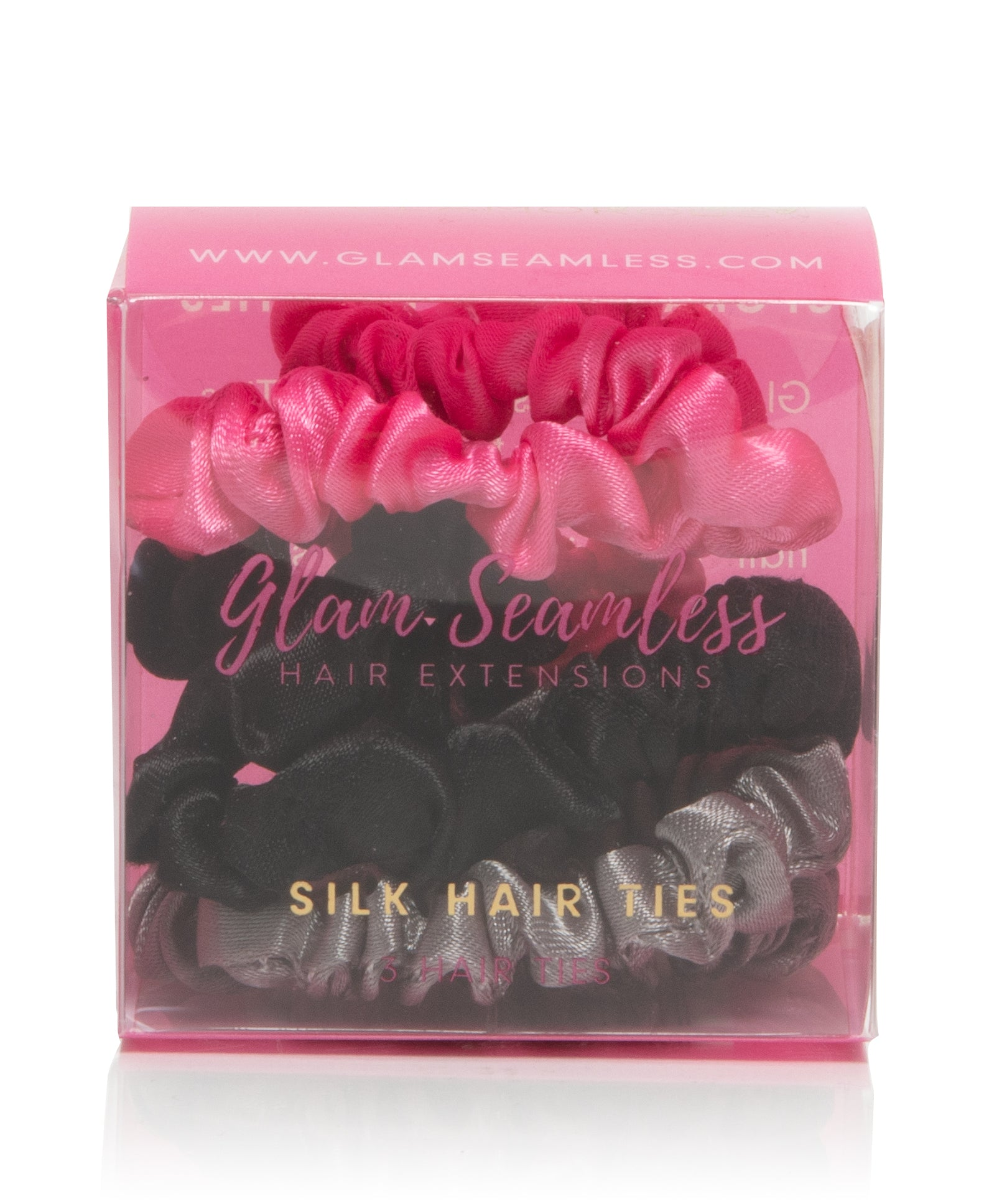 Glam Seamless Silky Hair Tie Set