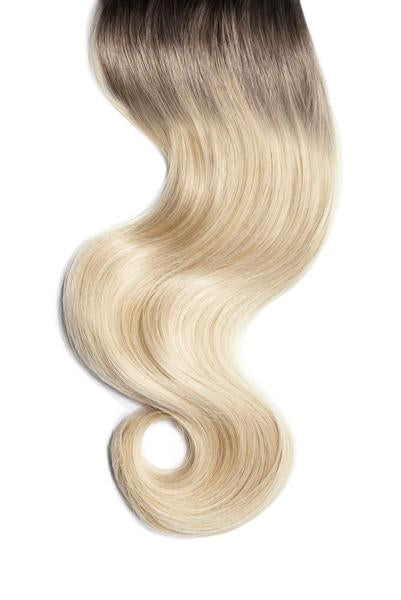 Santa Monica Blonde Ombre Skin Weft Hair Extensions
