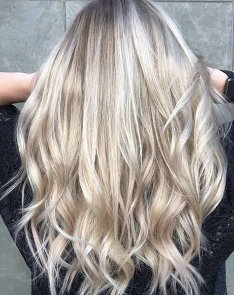 Ultra Seamless Tape In Hair Extensions Dirty Blonde Highlights