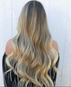 Natural Dark Blonde w/ Light Golden Blonde Highlights #18/22 Clip In