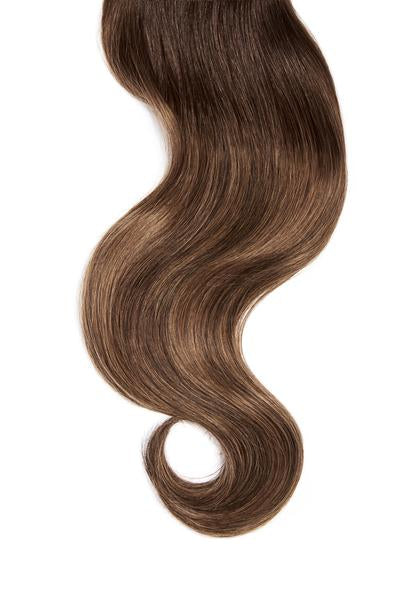 Soft Brunette Balayage Single Clip Volumizer