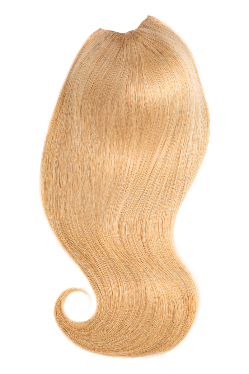 Glam seamless u part halo wig extensions