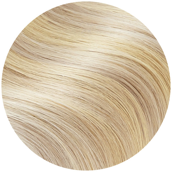 Vanilla Swirl Highlights Ultra Seamless Tape In Hair Extensions