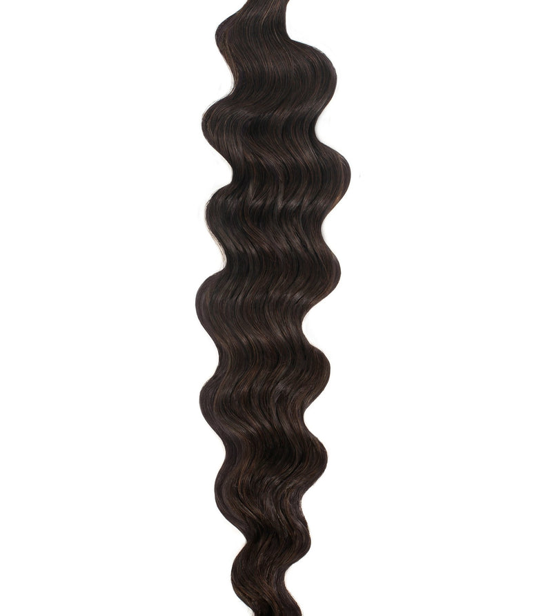 Natural Black (1B) Wavy Weft Bundle