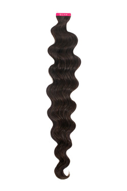 Natural Black (1B) Wavy Tape In