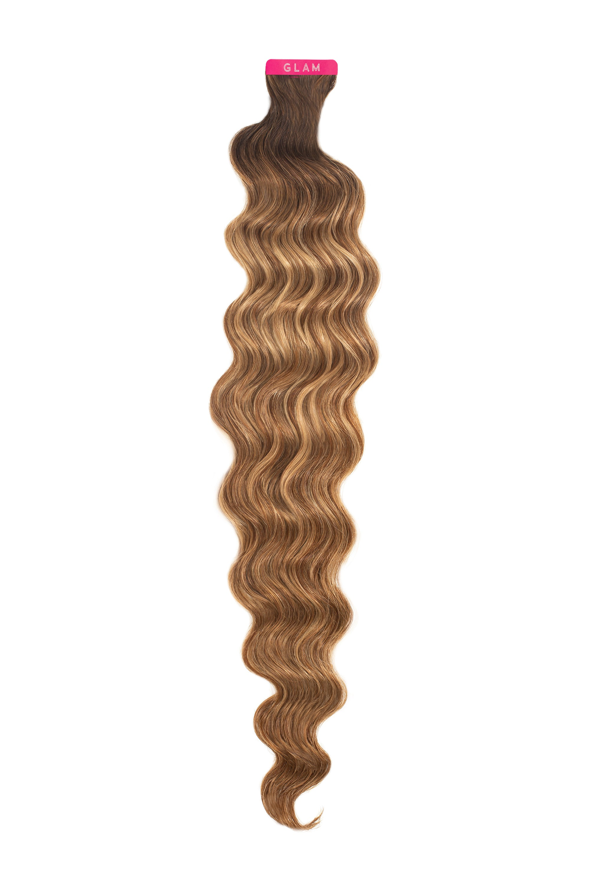 Mocha Bronde Balayage Wavy Tape-In Extension