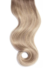 Cream Beige Balayage Invisi Tape Hair Extensions