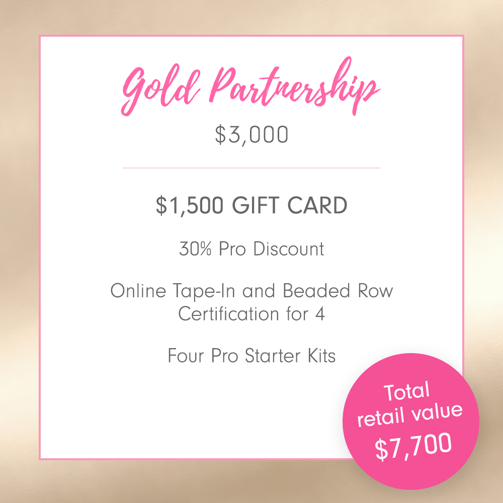 Gold Partner Salon Package