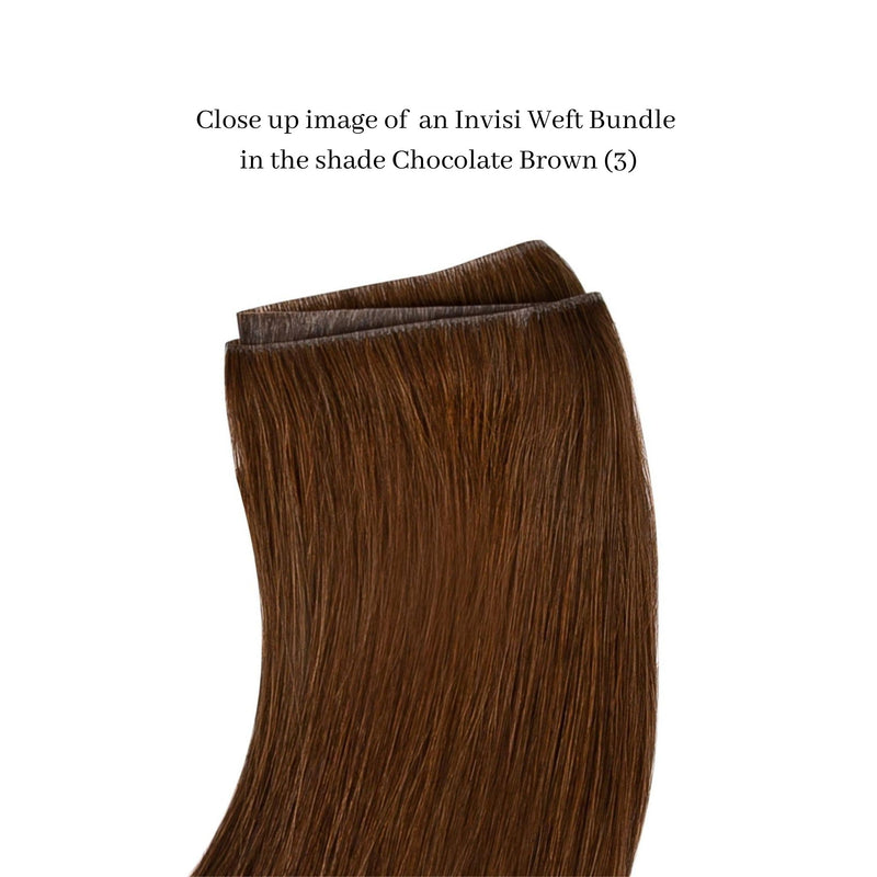 Invisible Weft Hair Bundles