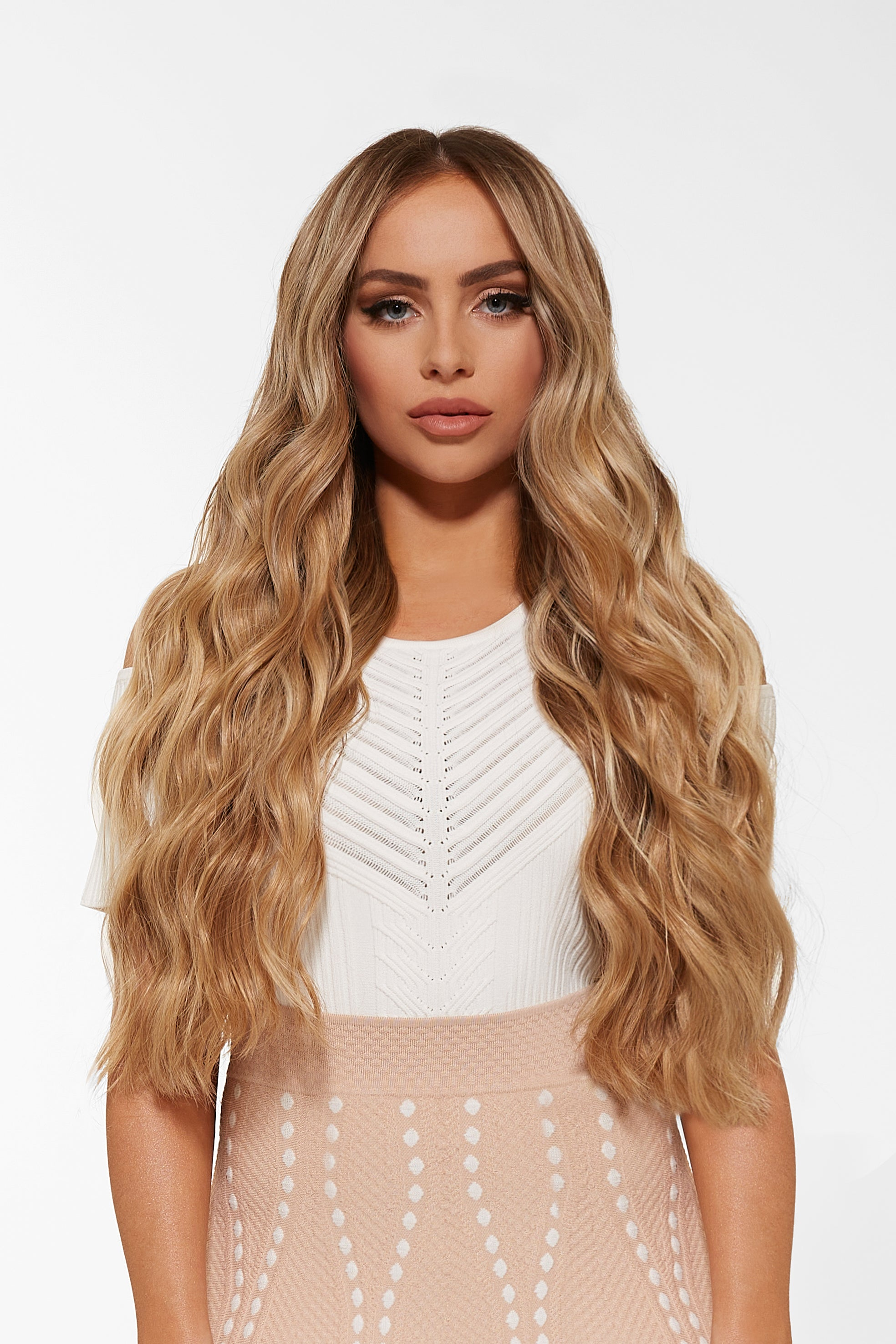 Ultra Seamless Tape In Hair Extensions Dirty Blonde