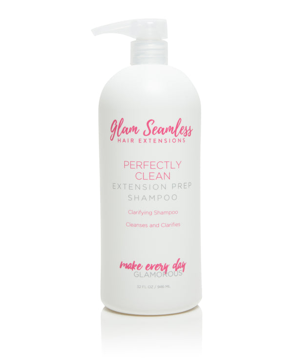 Clarifying shampoo for extensions