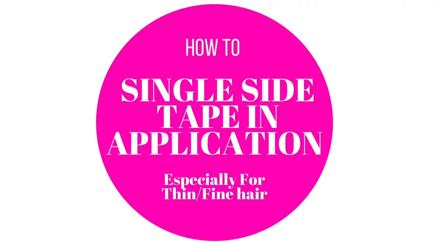 How To Apply Single Sided Tape