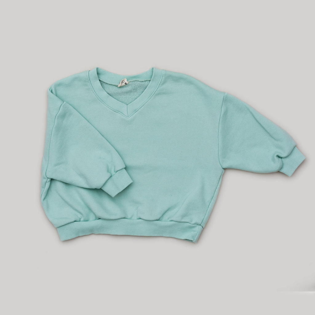 V-neck Sweatshirt with mom