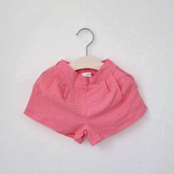 Pintuck short pants