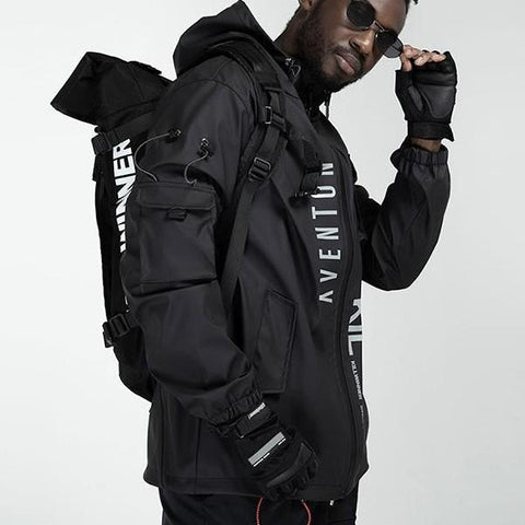 Techwear clothing style