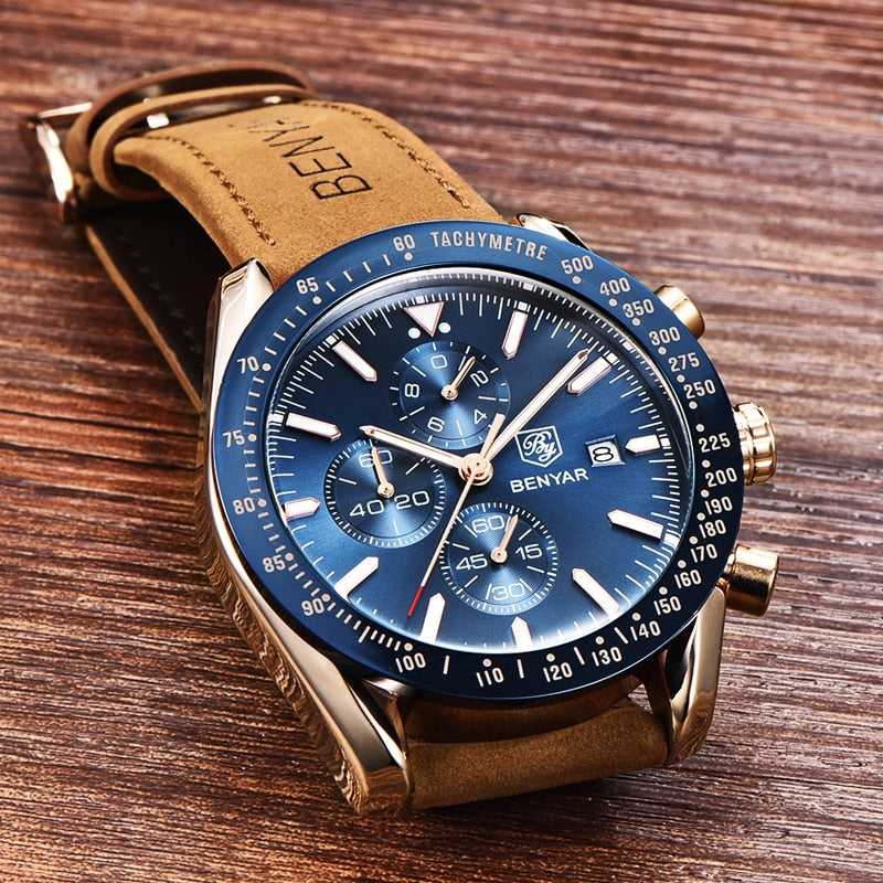 Latest Luxury Waterproof Sport Quartz Chronograph Military Type  Men's  all  Sports  Watch (Free Shipping)