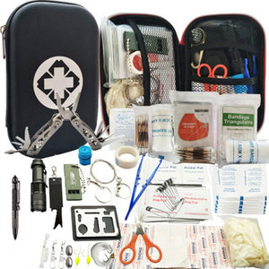 80 in 1 Outdoor Survival Kit Set Camping Travel Multifunction First Aid SOS EDC Emergency (Free Shipping)