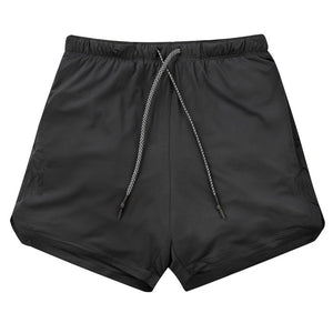 Men's Shorts, Gyms Fitness, or  Bodybuilding, Quick Dry Shorts, Summer Sportswear Bottoms (Free Shipping)