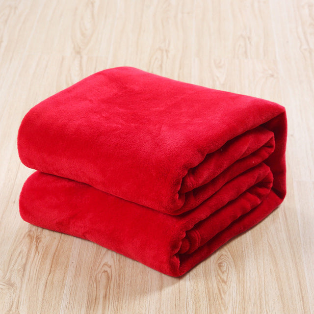 Soft Coral Fleece Pet Blanket, Dog, Cat Bed Mat, Warm Comfy Mat, Small, Medium, Large Dogs (Free Shipping)