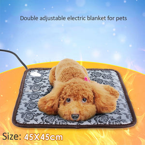 Electric Mat Soft Warm Fleece Paw Print for your Pet, Puppy, Cat, Mat Soft Sofa Warm Cover (Free Shippng)