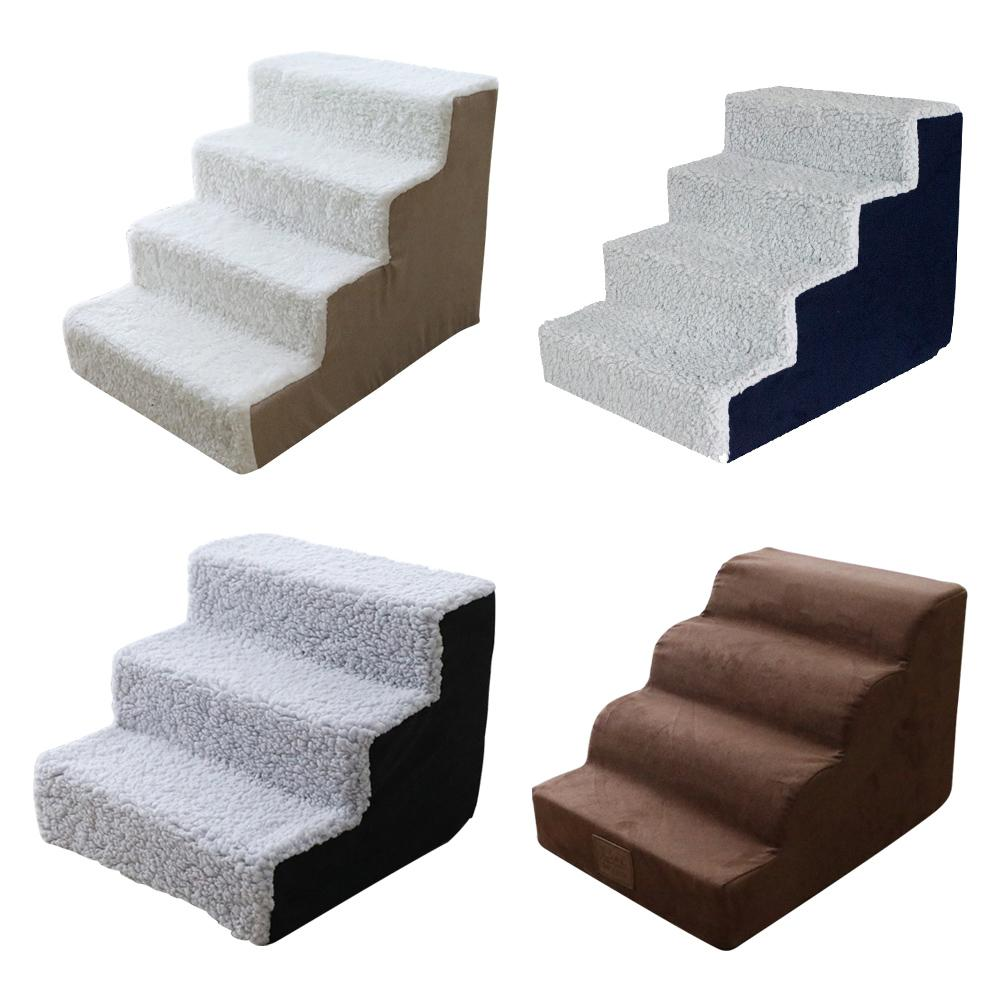 Animal Stairs, Ramp, Portable Ladder for your Indoor Small Pets Soft Steps Bed Supplies (Free Shipping)