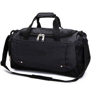 Large Unisex Travel Duffle Bag Luggage Handbag Waterproof Shoulder Crossbody Duffle Bag (Free Shipping)
