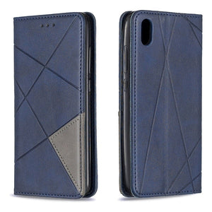 Xiaomi Magnetic Absorption Leather Case for Redmi Note 7 & 7a Card Holder Stand Cover (Free Shipping)
